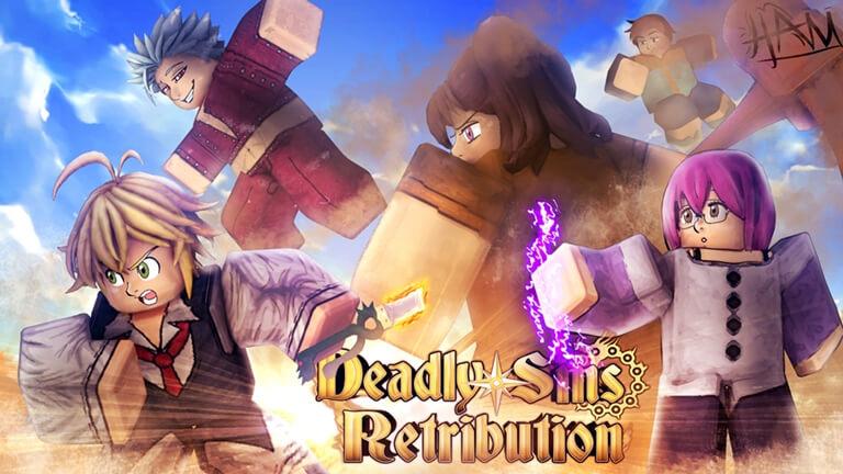 Deadly Sins Retribution Codes