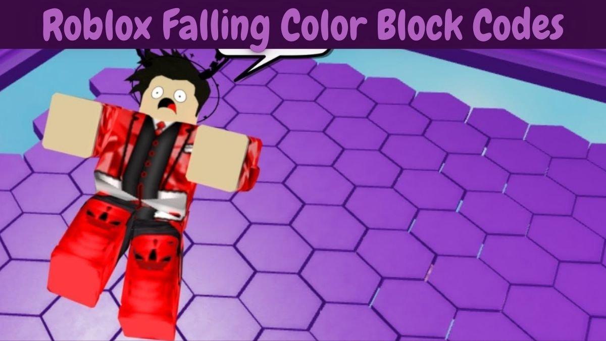 Falling Color Block Codes